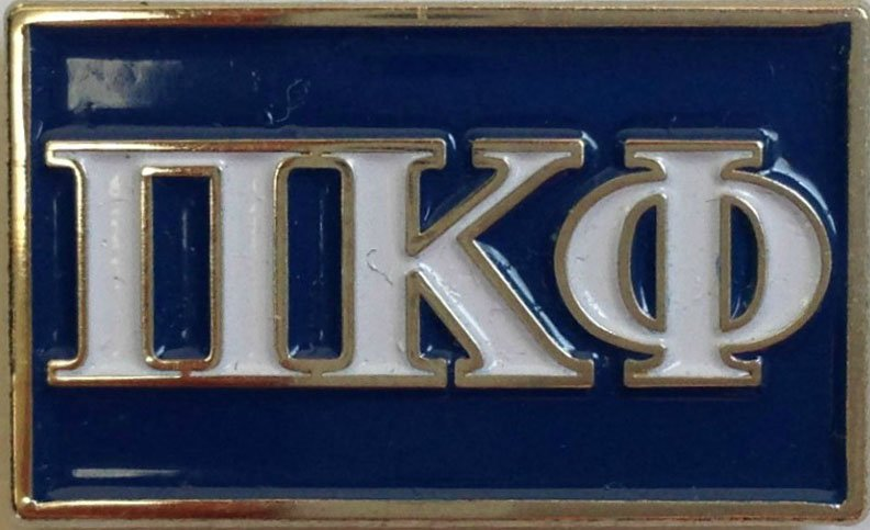 Pi Kappa Phi Fraternity Flag Pin