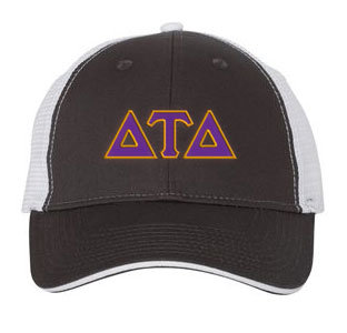 Delta Tau Delta Greek Trucker Cap