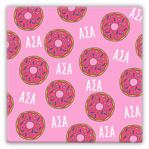 Alpha Sigma Alpha Metal Magnets