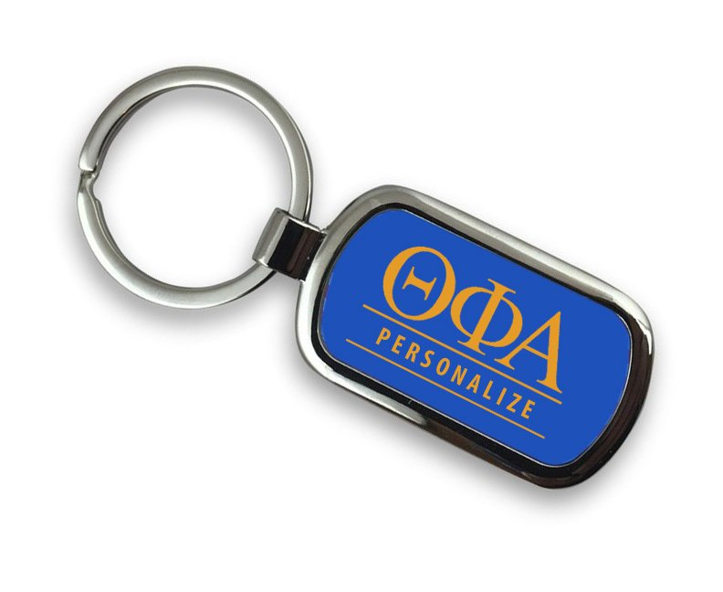 Theta Phi Alpha Chrome Key Chain