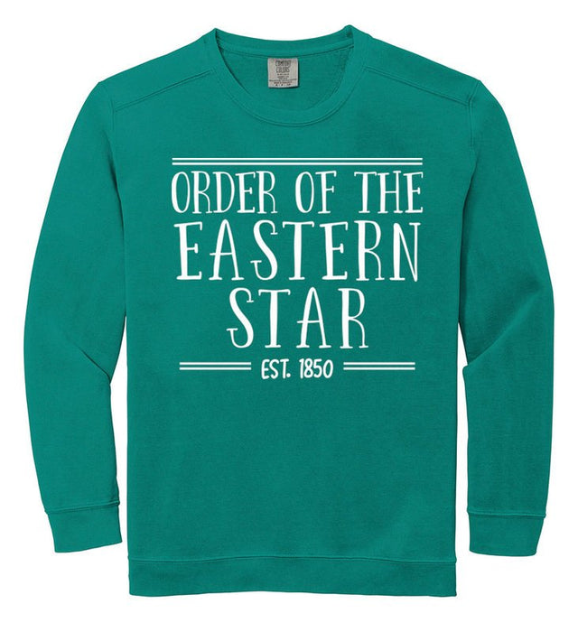 Order Of Eastern Star Comfort Colors Custom Sorority Sweatshirt