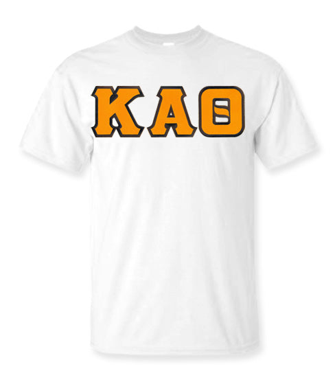 Kappa Alpha Theta Lettered T Shirt
