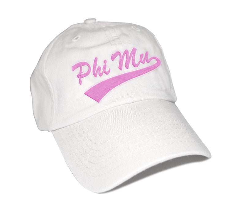 Phi Mu New Tail Baseball Hat
