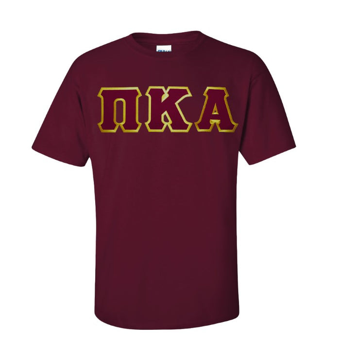 Pi Kappa Alpha Lettered T Shirt