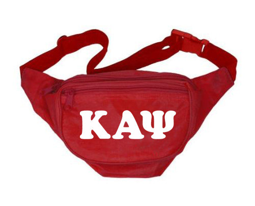 Kappa Alpha Psi Letters Layered Fanny Pack