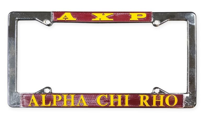 Alpha Chi Rho License Plate Frame