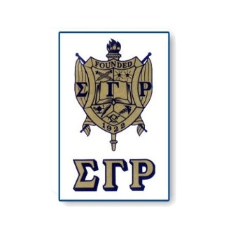 Sigma Gamma Rho Crest Decal