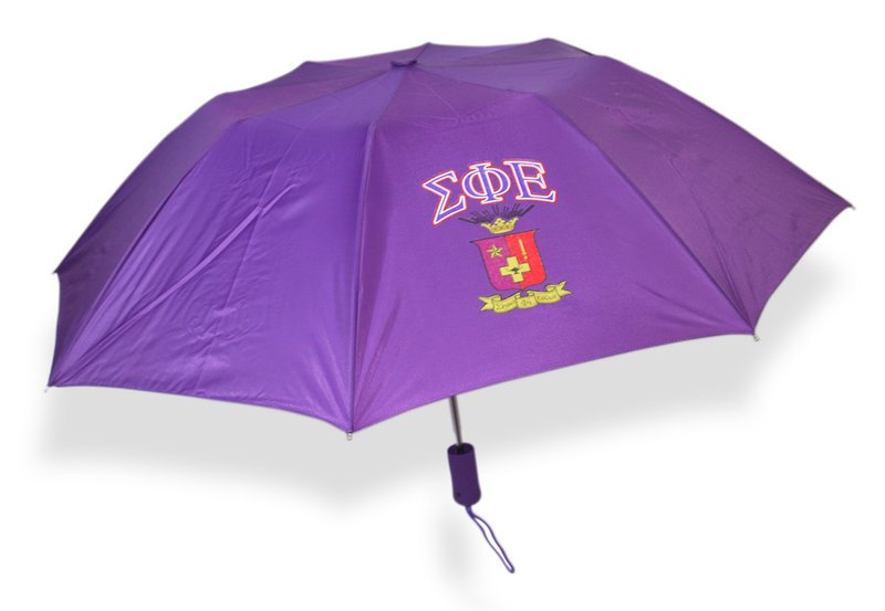 Sigma Phi Epsilon Crest Umbrella