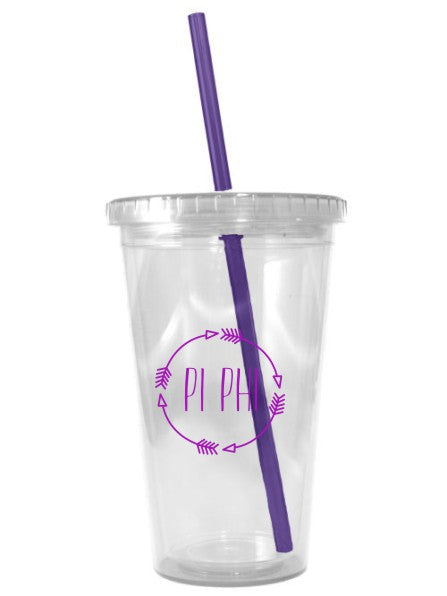 Arrows 16 oz Acrylic Tumbler