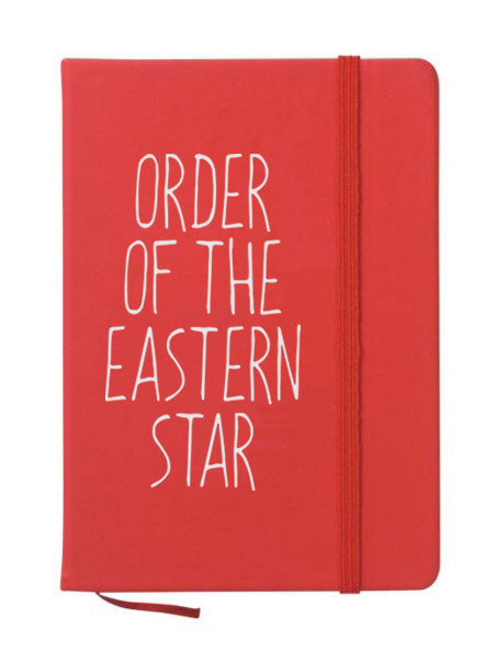 Order Of The Eastern Star Mountain Notebook