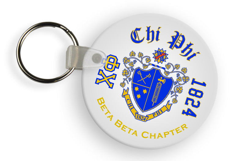 Chi Phi Color Keychain