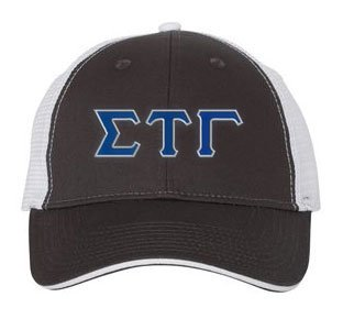 Sigma Tau Gamma Greek Trucker Cap