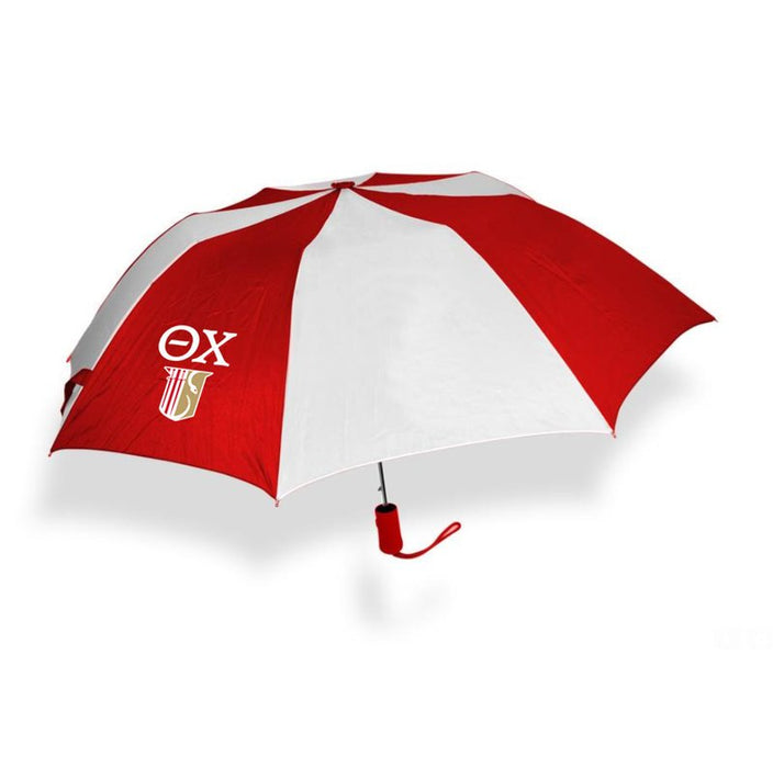 Theta Chi Crest Umbrella