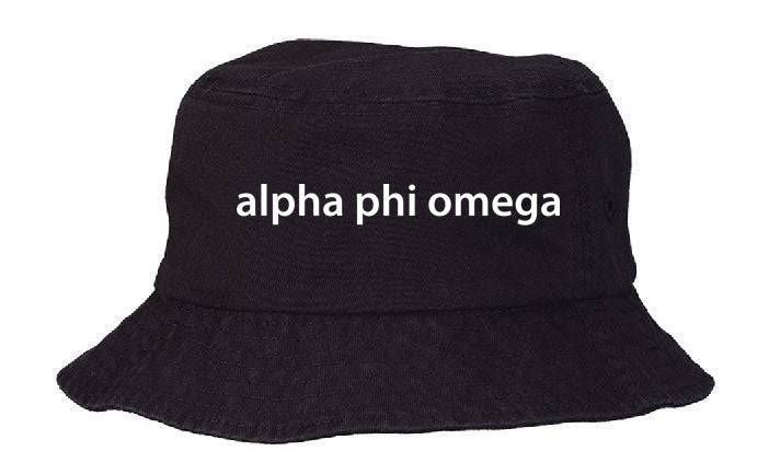 Alpha Phi Omega Best Selling Bucket Hat