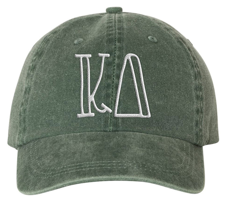 Kappa Delta Sorority Greek Carson Embroidered Hat