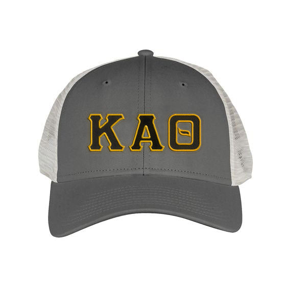 Kappa Alpha Theta Greek Trucker Cap