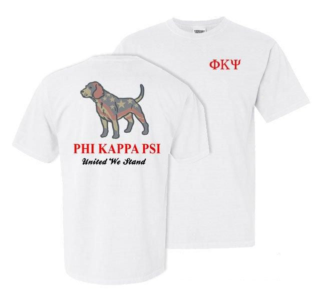 Phi Kappa Psi Stand Tall Comfort Colors Heavy Tee