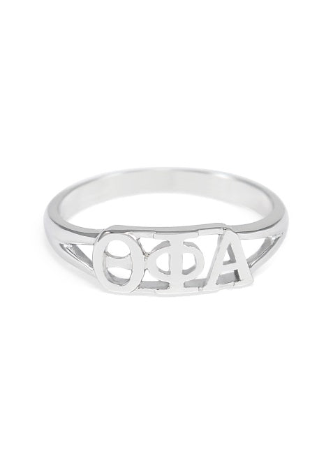 Theta Phi Alpha Sterling Silver Ring