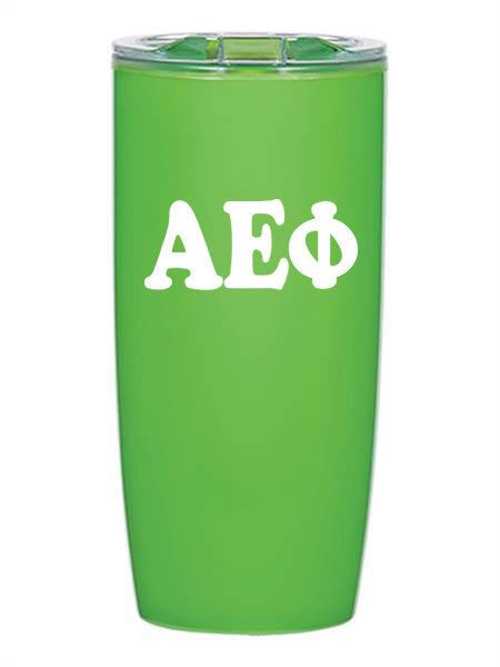 Alpha Epsilon Phi Cooper Letters 19 oz Everest Tumbler