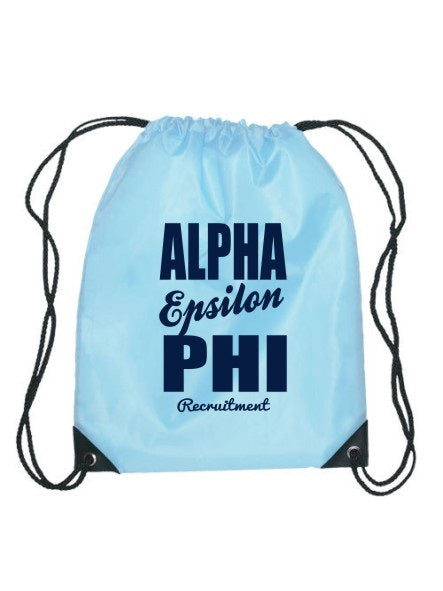 Alpha Epsilon Phi Cursive Impact Sports Bag