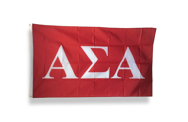 Alpha Sigma Alpha Big Flag