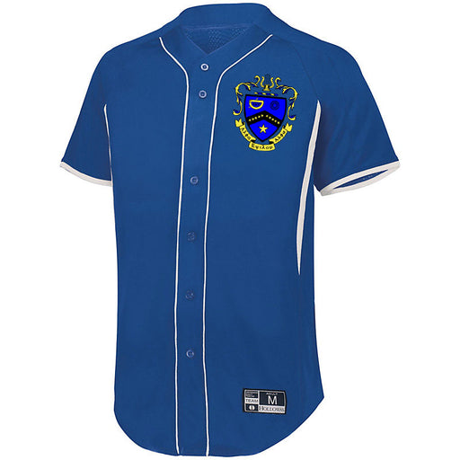 Kappa Kappa Psi 7 Full Button Baseball Jersey