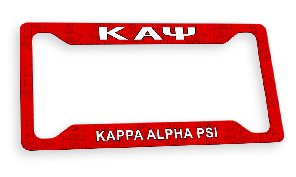 Kappa Alpha Psi New License Plate Frame