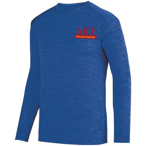 Delta Kappa Epsilon $20 World Famous Dry Fit Tonal Long Sleeve Tee