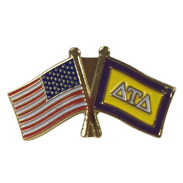 Delta Tau Delta USA / Fraternity Flag Pin