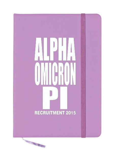Alpha Omicron Pi Impact Notebook