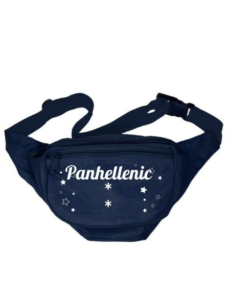Panhellenic Stars Fanny Pack