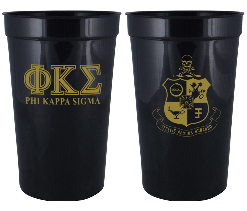 Phi Kappa Sigma Fraternity New Crest Stadium Cup
