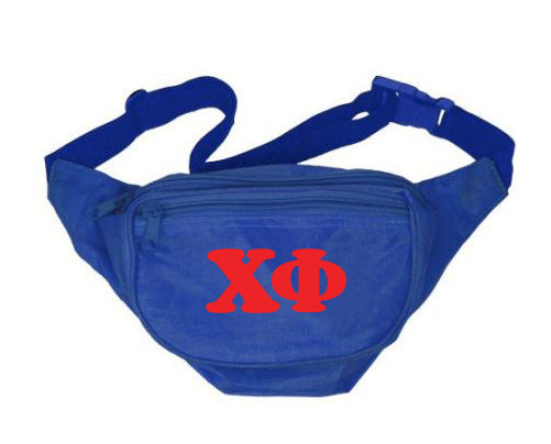 Chi Phi Fanny Pack Letters Layered Fanny Pack