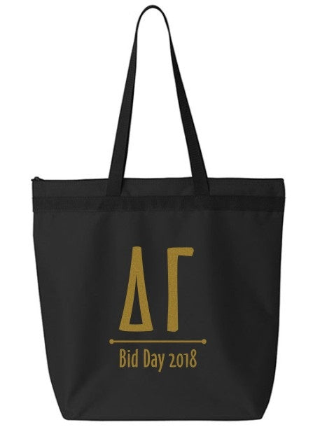 Delta Gamma Oz Letters Event Tote Bag