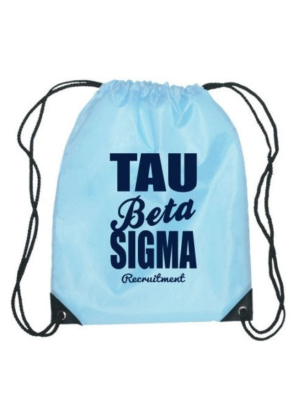 Tau Beta Sigma Cursive Impact Sports Bag