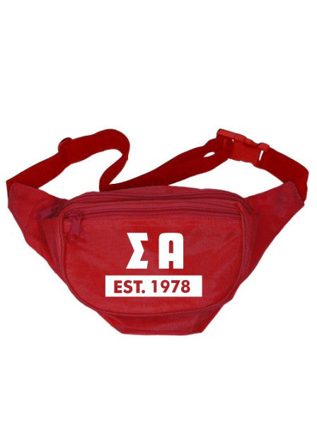 Sigma Alpha Laural Year Fanny Pack