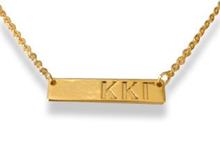 Kappa Kappa Gamma Bar Necklace
