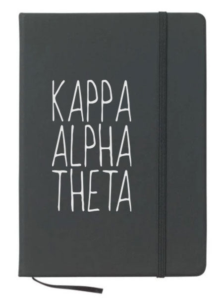 Kappa Alpha Theta Mountain Notebook