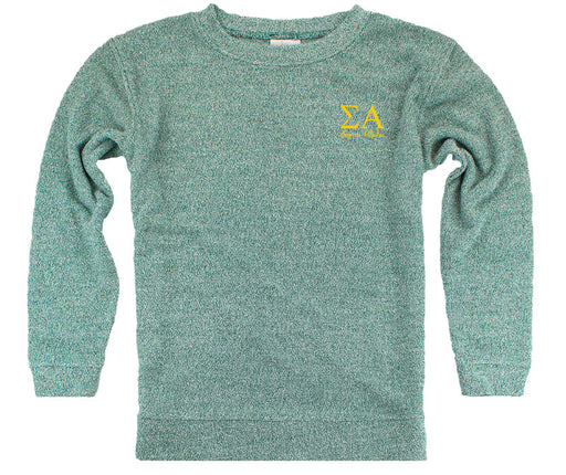 Sigma Alpha Lettered Cozy Sweater