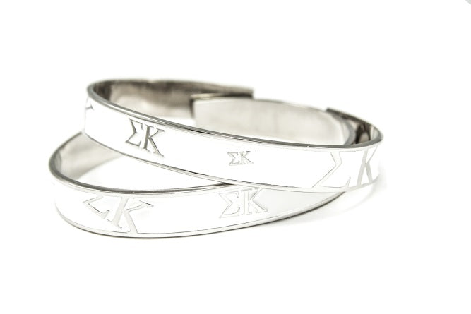 Sigma Kappa Bangle Bracelet