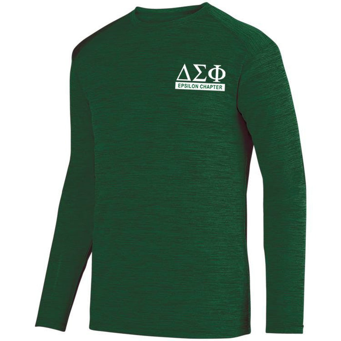 Delta Sigma Phi $20 World Famous Dry Fit Tonal Long Sleeve Tee