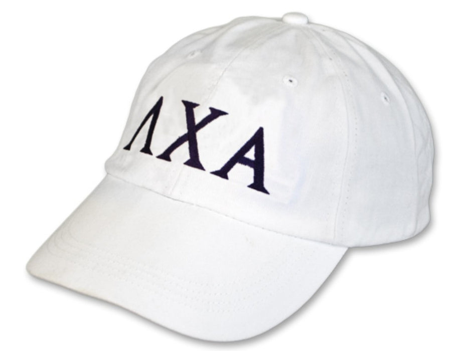 Lambda Chi Alpha Greek Letter Embroidered Hat