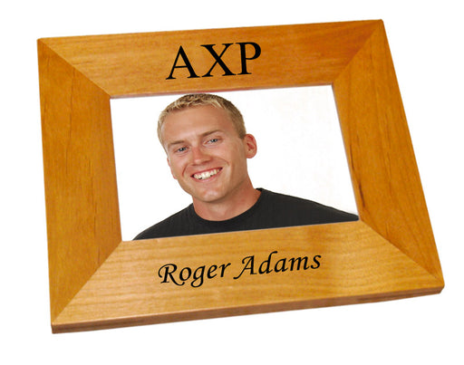 Alpha Chi Rho Wood Picture Frame