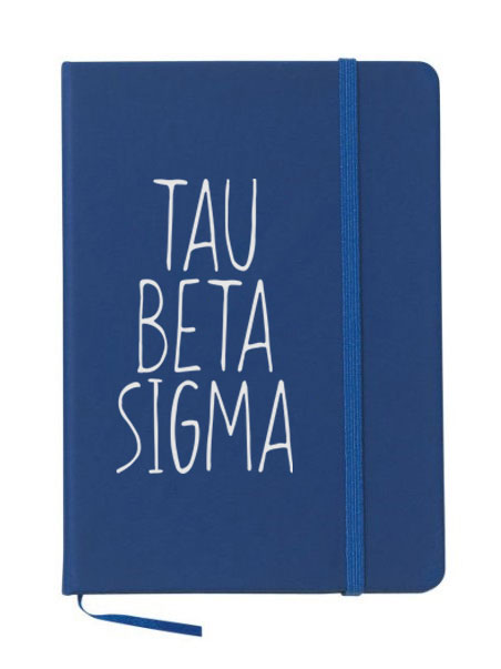 Tau Beta Sigma Mountain Notebook