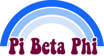 Pi Beta Phi End of The Rainbow Sorority Decal