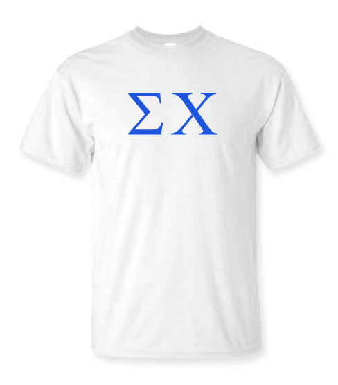 Sigma Chi Letter T-Shirt