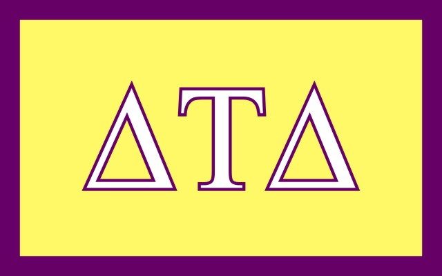 Delta Tau Delta Fraternity Flag Sticker