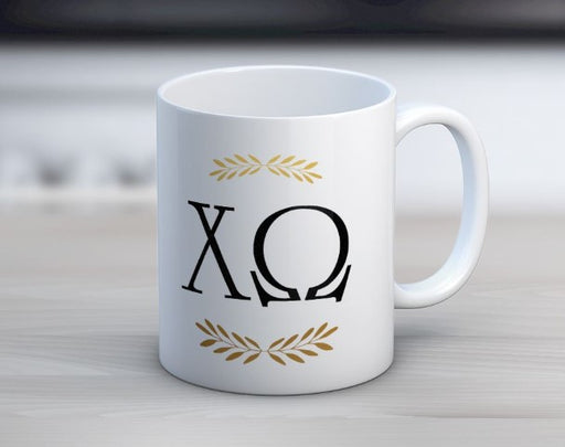 Sorority Letter Coffee Mug