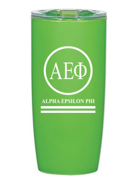 Alpha Epsilon Phi Circle Stripes 19 oz Everest Tumbler