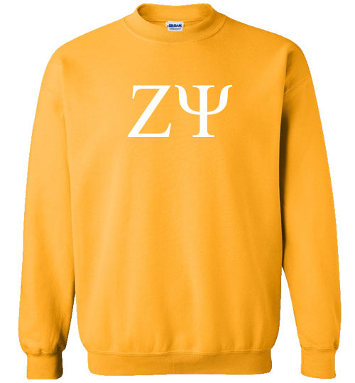 Zeta Psi World Famous Lettered Crewneck Sweatshirt